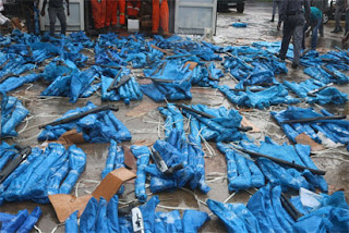 Customs Impounds 475 Rifles At Lagos Tin Can Port Again