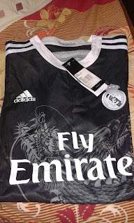 Jersey real madrid third terbaru musim 2014/2015