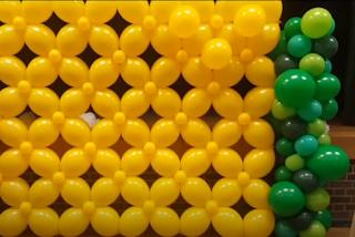 Tutorial eine Wand aus Luftballons.
