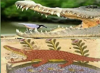 দুটো ছবির মধ্যে ১২০০ বৎসরের পার্থক্য