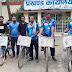 जमुई : खैरमा पहुंची साईकिल यात्रा की टीम, पौधरोपण कर दिया संरक्षण पर बल
