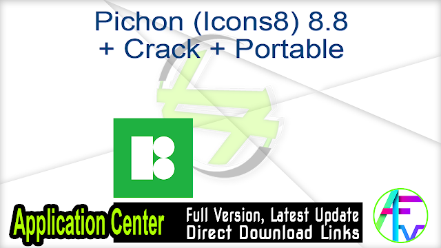 Pichon (Icons8) 8.8 + Crack + Portable