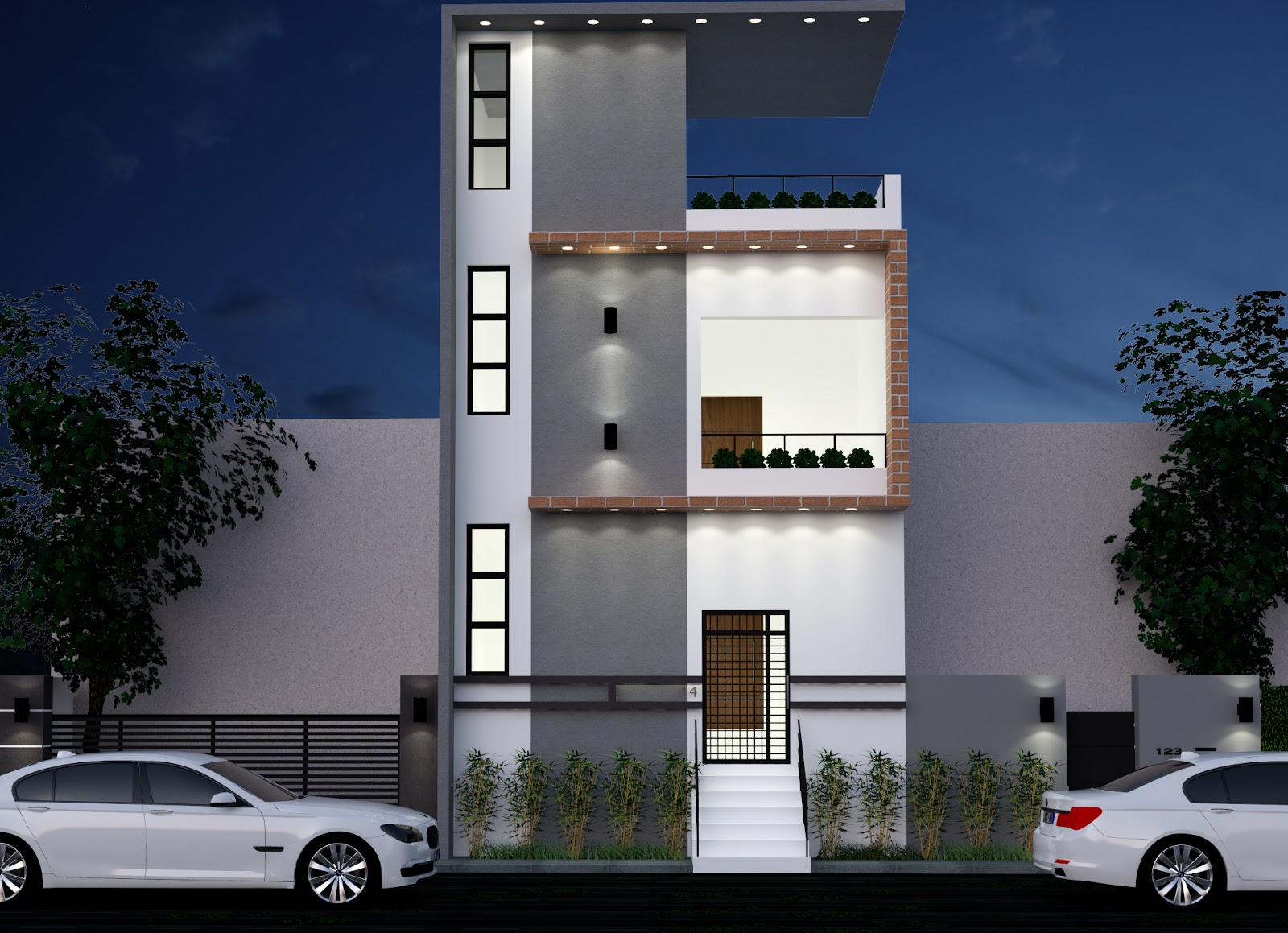 Residential Elevation For Upcoming Projects