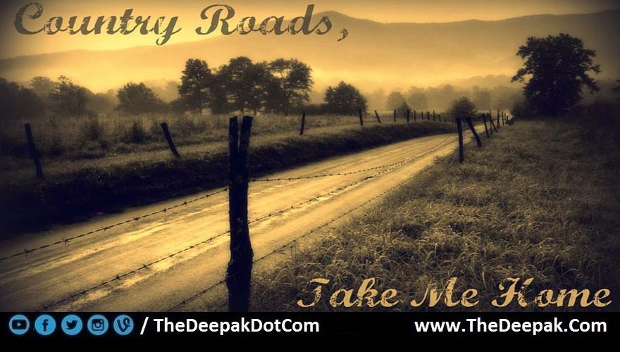 Country Roads Take Me Home Chords John Denver Thedeepak