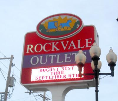 Rockvale Outlets in Lancaster Pennsylvania