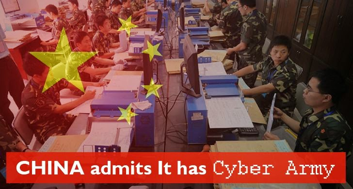China Finally Admits It Has Army of Hackers