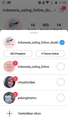 indonesia saling follow