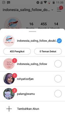 indonesia saling follow