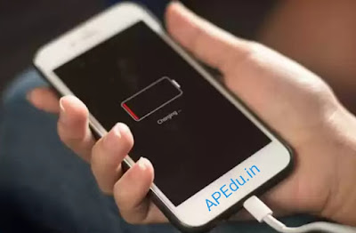Technology: Your phone's battery is charging down quickly.