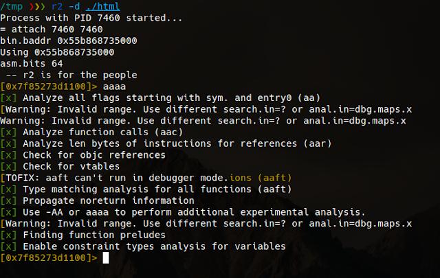 vlang binary debugging