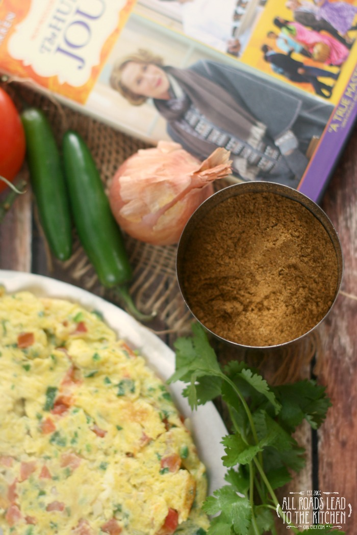 Masala Omelette inspired by The Hundred-Foot Journey
