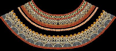 Textile-print-jwellery-border