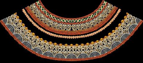 Textile-print-jwellery-border-7010