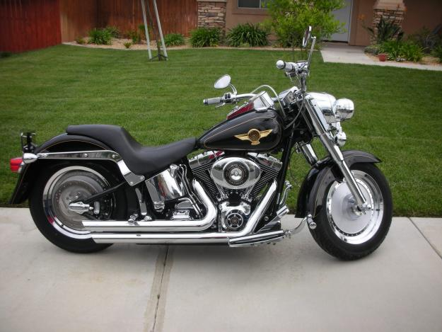 auto review: top harley davidson fatboy