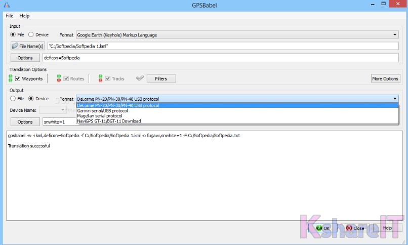 GPSBabel 1 6 0 - KshareIT - Software Download for Windows