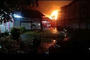 Gedung UPTD Logam Purbalingga Alami Kebakaran