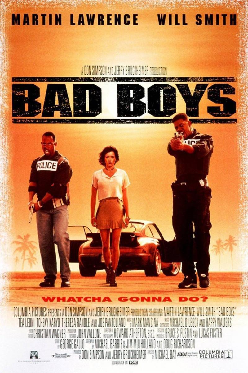 Download Bad Boys 1 (1995) Full Movie in Hindi Dual Audio BluRay 720p [800MB]