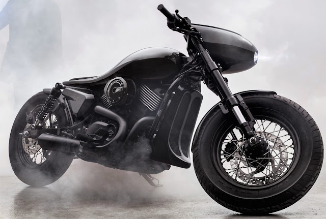 Bandit9 Motorcycle Dark Side