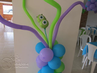 FIESTA INFANTIL MONSTER INC O UNIVERSITY
