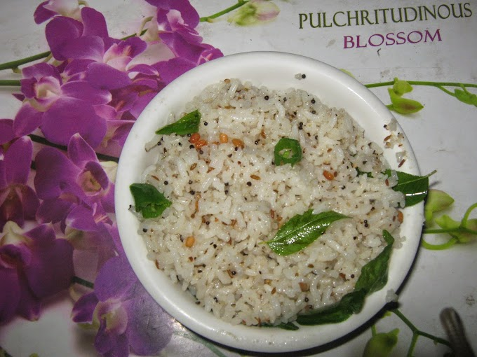 Kanchipuram Special Milagu Seeraga Sadham / Pepper Jeera Rice - Lunch box Recipes
