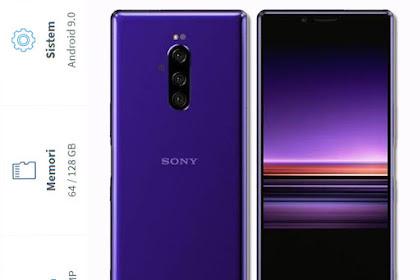 Spesifikasi dan Harga Sony Xperia 1