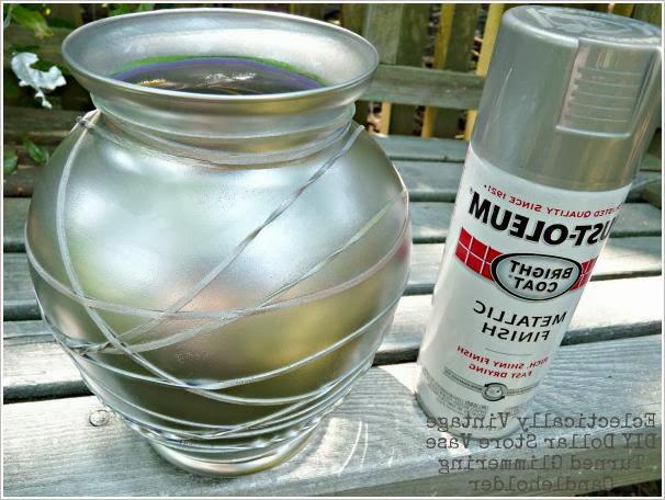 Креативный подсвечник из стеклянной вазы