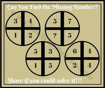 Fun Maths Quick Brain Teaser