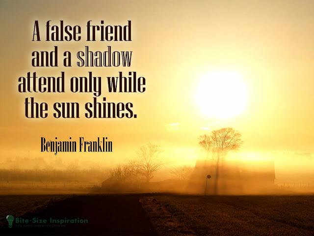 False Friends Quote
