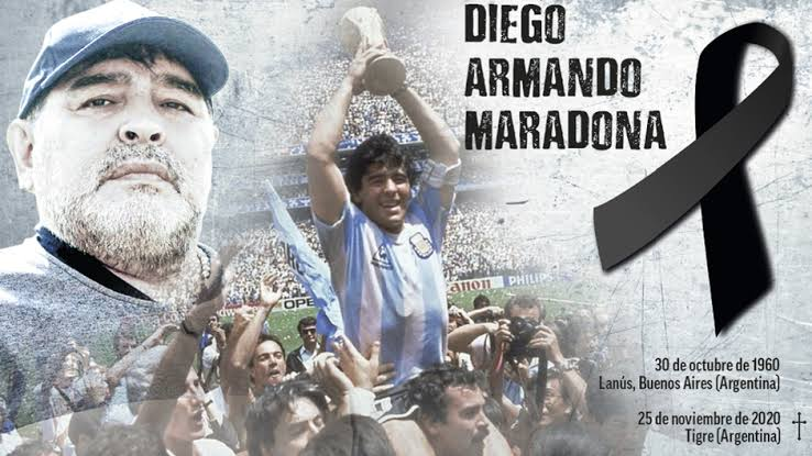 Football legend Diego Maradona died of heart attack