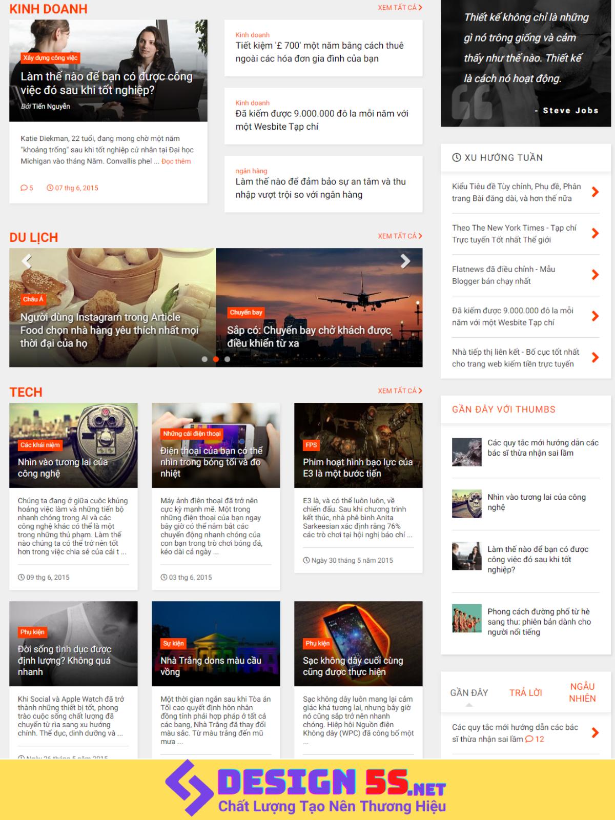 Chia Sẻ Template Blogspot Miễn Phí MagOne v6.7.6  - Ảnh 2
