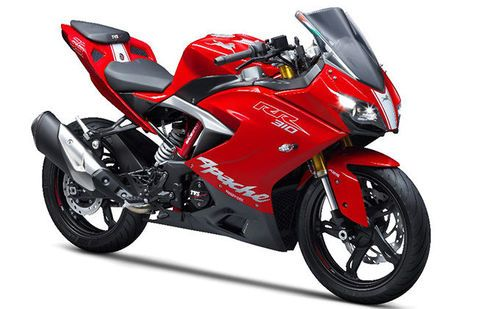 New 2018 TVS Apache RR 310 Red HD Wallpaper ||
