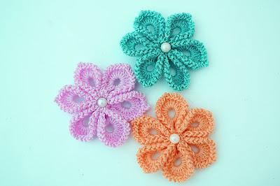 5 - Imagen Crochet Flor a crochet muy fácil y sencilla por Majovel Crochet