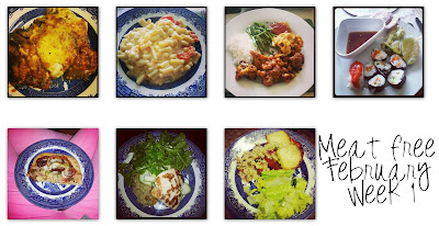 Vegetarian for a month February 2013