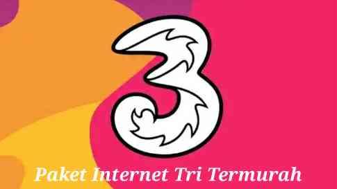 Paket Internet Tri Murah Terbaru Dengan Kuota Lebih Besar Melimpah