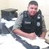 Policiais da cidade de Santa Helena encontram espingarda abandona próximo da sede da Prefeitura