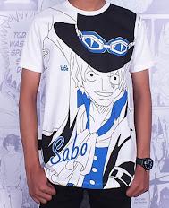 Kaos Anime Sabo Full Print