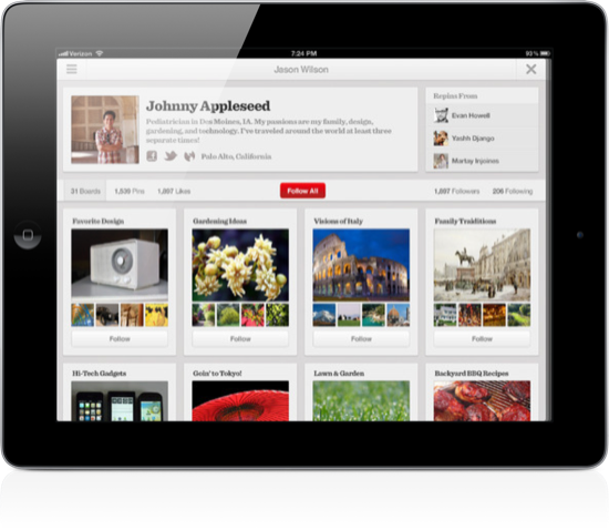 Free Download Pinterest Apps For Both Android And iOS Phone Or Tablets