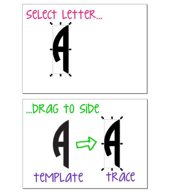 Blue Circlesvg: Hey, It's SJ!: Did-It-Myself SVG Monogram Tutorial