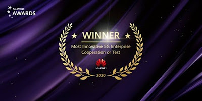 "Huawei คว้ารางวัล ""ความร่วมมือ/การทดสอบด้าน 5G ระดับองค์กรที่มีนวัตกรรมล้ำสมัยที่สุด (Most Innovative 5G Enterprise Partnership/Trial)"" จากการร่วมสนับสนุนโครงการต้านโรคติดต่ออัจฉริยะด้วยเทคโนโลยี 5G แห่งเมืองอู่ฮั่น"