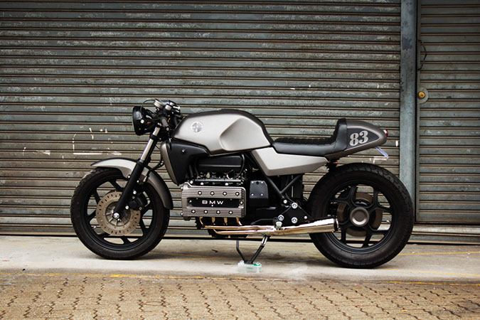 bmw k100 cafe racer brick motorcycles way2speed. Black Bedroom Furniture Sets. Home Design Ideas