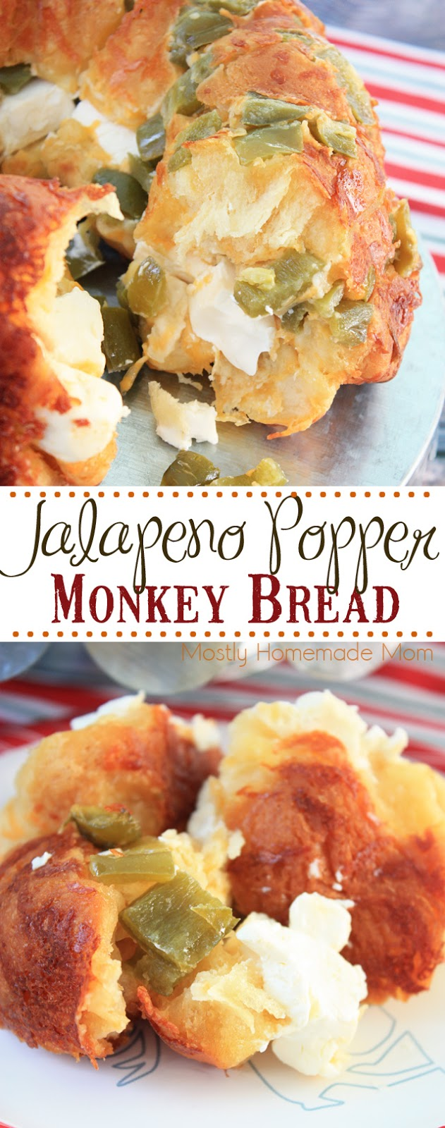 Jalapeno Popper Biscuit Monkey Bread Recipe