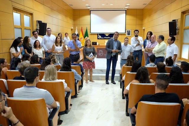 En Fuerteventura  110 estudiantes participan en verano 2019  en el Programa de Becas de Formación Práctica del Cabildo