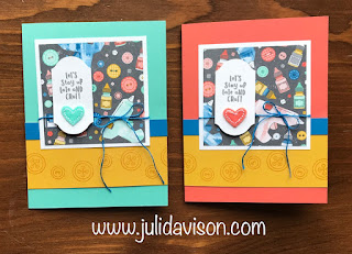 This or That? Stampin' Up! Follow Your Art Floating Pop Up Card ~ Annual Catalog Sneak Peek ~ www.juliedavison.com