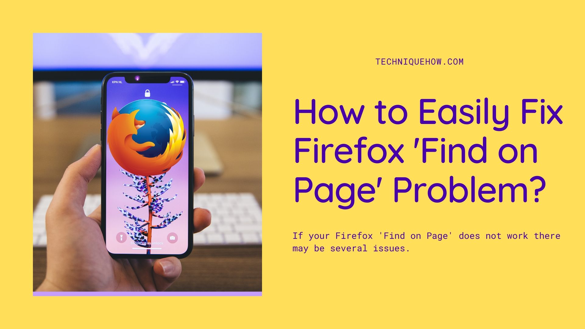 Firefox 'Find on Page' Problem
