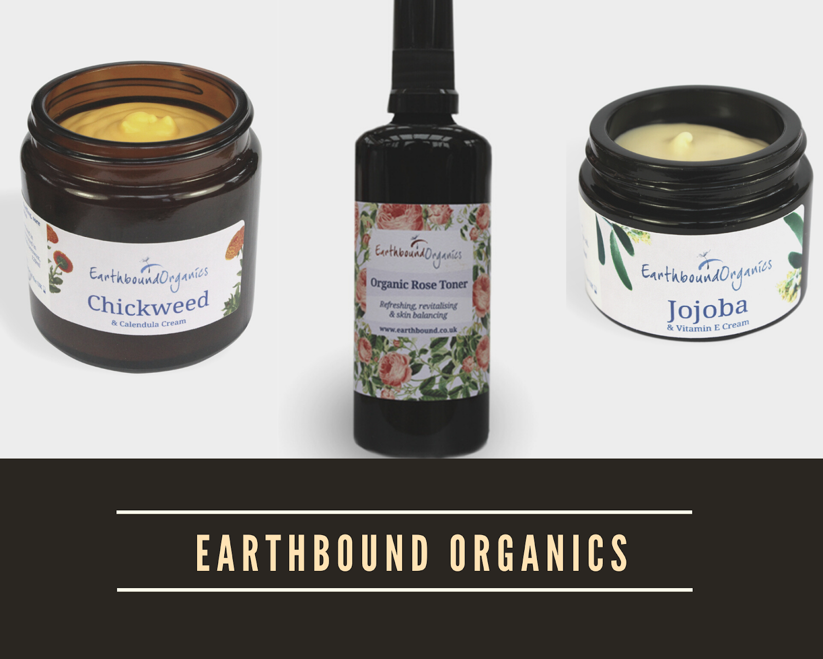Earthbound Organics natural skincare from Wales