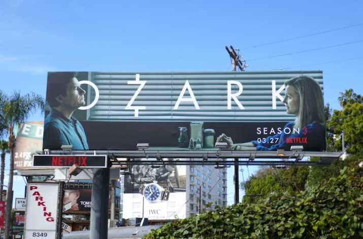 Ozark season 3 Netflix billboard