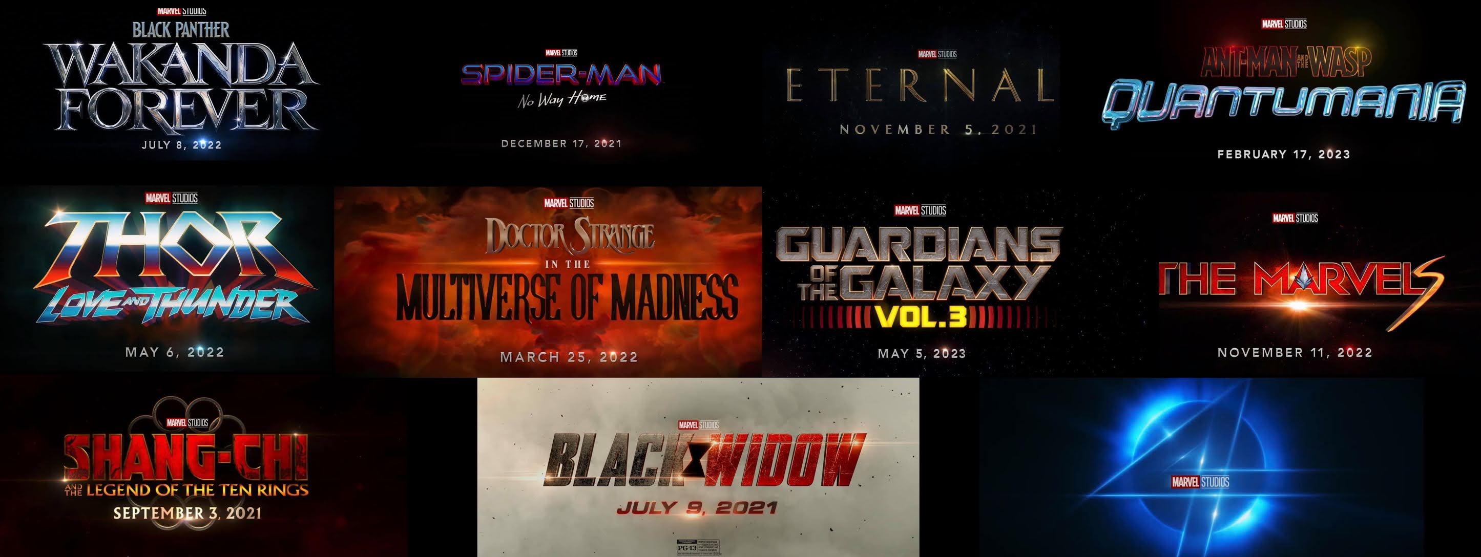tarikh tayangan Marvel Phase 4 untuk di Malaysia