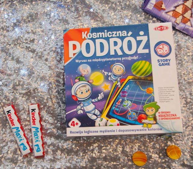 gra planszowa do grania z dziećmi kosmiczna podróż
