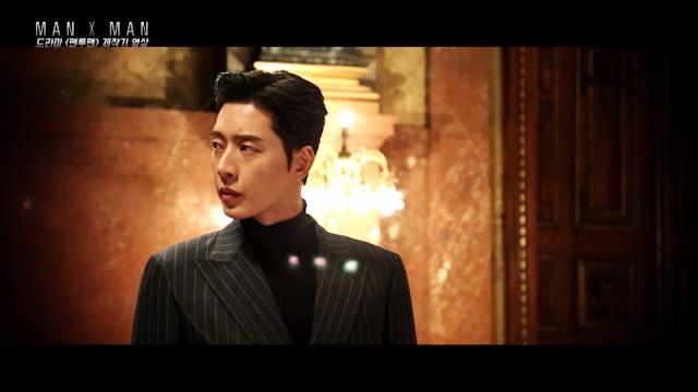 JTBC新戲《Man to Man》公開首波拍攝花絮