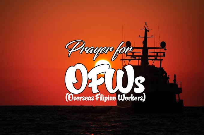 Prayer for Overseas Filipino Workers (OFWs)